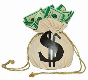 Cheap Money Bag Handbag at Go4Costumes com