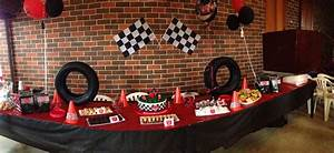 Racing Car Birthday Party Candy Buffet Ideas Little