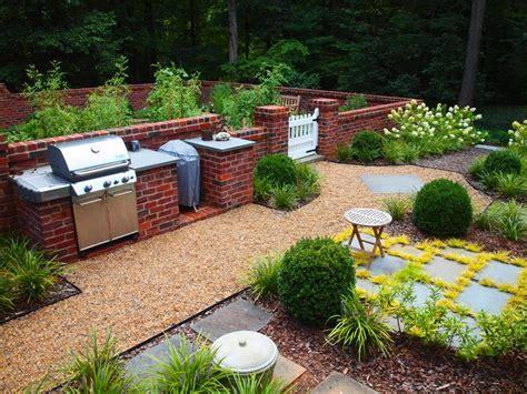 garden brick wall design ideas patio traditional with