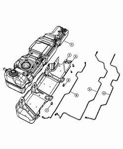 2008 Jeep Wrangler Tank  Fuel   Nf3   17 6 Gallon  Module