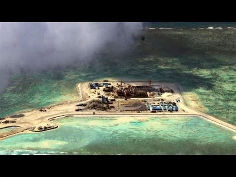 how to make an island for your kitchen on a disputed island in the south china sea 9789