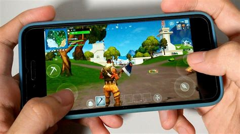 iphone  fortnite mobile gaming performance test
