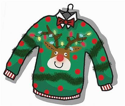 Sweater Ugly Christmas Clipart Holiday Jumper Clip