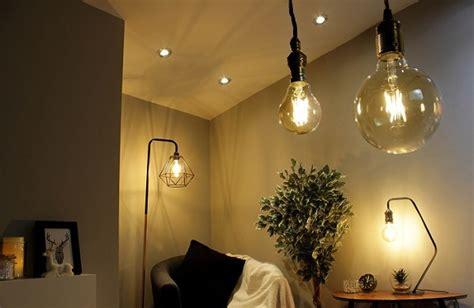 Led Light Bulb In Room a guide to led living room lighting led hut