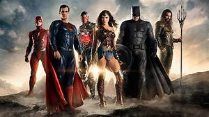 Wallpaper Justice League, 2017 Movies, Flash, Superman ...