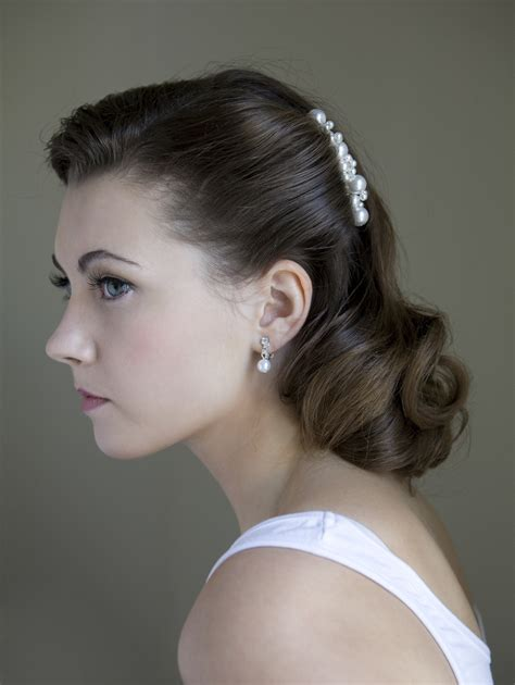 1950s Wedding Hairstyles by Miss Vintage Wedding Affair A Vintage Wedding Fair