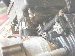 I Need A Diagram For The Carbureter Throttle Spring Setup For A Magnum 49cc 111 Plus Ice Auger