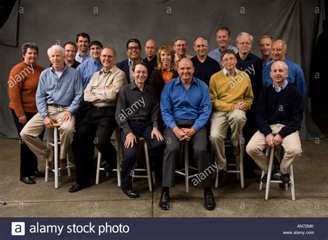 June 14 2006 Microsoft Senior Leadership Team Photographed