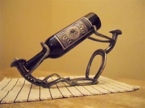 Kitchen Wine Rack Ideas - 10 things you can make with horseshoes diy projects for everyone