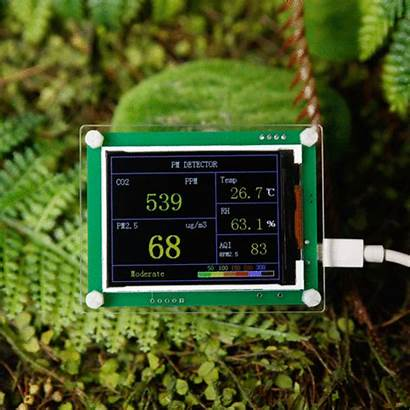 Module Pm2 Detector Co2 Monitoring Tester Display