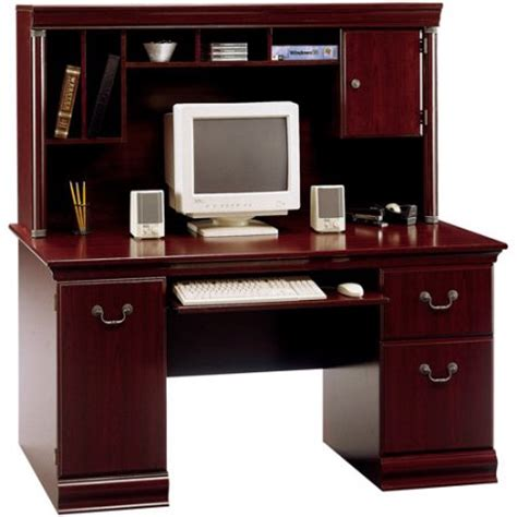 Walmart Desks With Hutch by Bush Birmingham Collection Computer Desk And Hutch