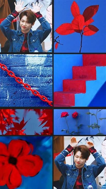 Aesthetic Kpop Collage Wallpapers Tile Stray Felix