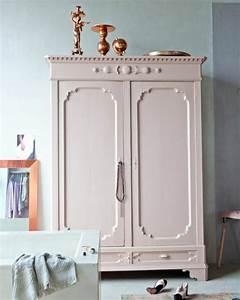 Miroir Cuivre Rose : 1001 id es pour relooker une armoire ancienne ~ Melissatoandfro.com Idées de Décoration