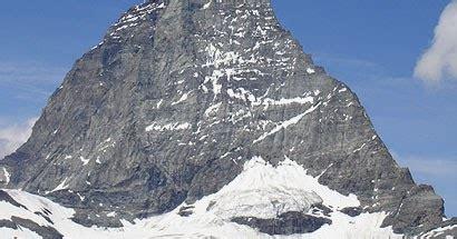 semuana gunung mattehorn gunung  terkenal  swiss