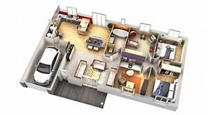 Plan Interieur Maison : plan maison contemporaine wasabi villas club ~ Melissatoandfro.com Idées de Décoration