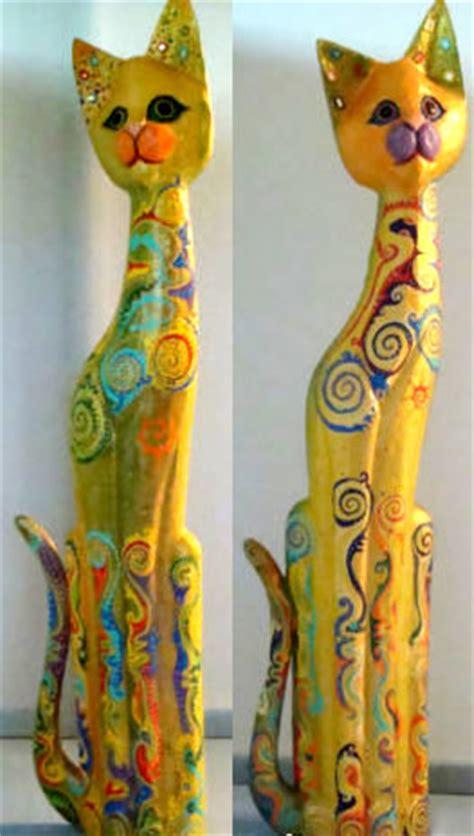 cat  wooden cats handicrafts  indonesia