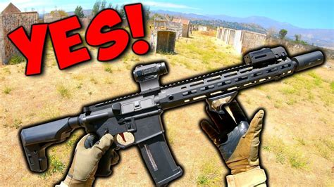 CRUSHING IT With The NEW BEST Airsoft Gun! - AIRSOFACE