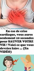 Truc Pour Bien Dormir : en cas de crise cardiaque vous aurez seulement 10 secondes pour sauver votre vie voici ce que ~ Melissatoandfro.com Idées de Décoration