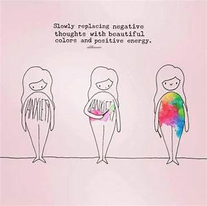 Slowly replace negative thoughts with beautiful colors and ...