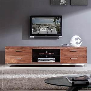 b-modern Promoter & TV Stands, Light Walnut