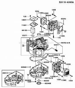 Kawasaki Fh500v Parts List And Diagram