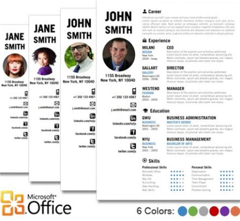 Creative Resume Templates Publisher by Creative Resume Template By Cvfolio Resumes