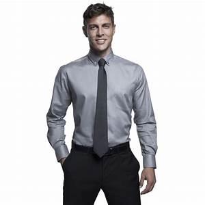 Chemise Sans Col Homme : chemise homme sans repassage publicitaire ~ Louise-bijoux.com Idées de Décoration