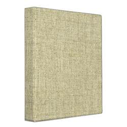 3 ring binder photo albums linen canvas texture 3 ring binders zazzle