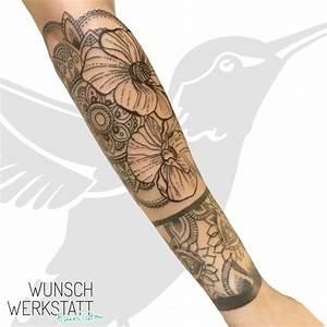 Mandala Tattoo Unterarm : 48 mandala tattoo ansatz tatoos ~ Frokenaadalensverden.com Haus und Dekorationen
