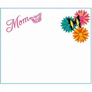 6 Free Mother's Day Borders for Cards, Scrapbooks and ...