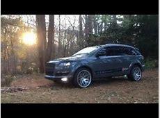 Audi Q7 wrap nardo grey on 22s custom YouTube
