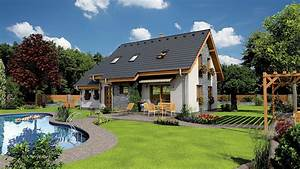 Pictures Swimming bath 3D Graphics Mansion Lawn Grass ...