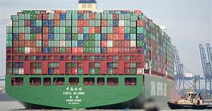 Bigger than the Shard: Watch the world's largest container ...