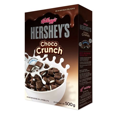 Cereal Choco kellogg s hershey s choco crunch cereal 500g korea for