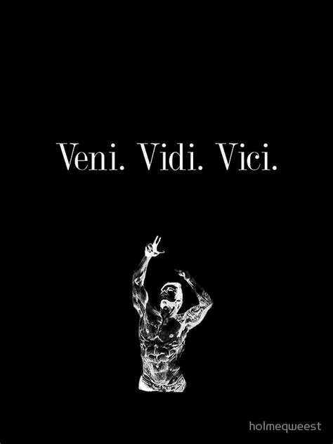 """zyzz  Veni Vidi Vici Design"" Art Prints By Holmeqweest"