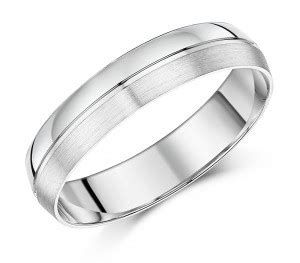 5mm men s patterned palladium wedding ring palladium 950 at elma uk jewellery
