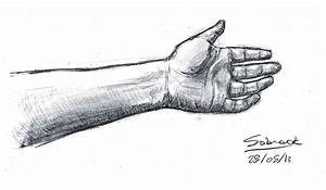Arm drawing by Nobges on DeviantArt