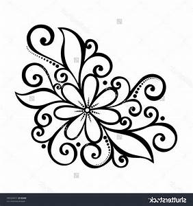 Simple Flower Pattern Drawing at PaintingValley.com ...