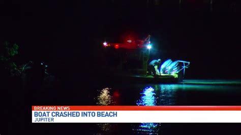 Boat Crash Jupiter by 24 Foot Boat Crashes Into Mangroves In Jupiter Wpec