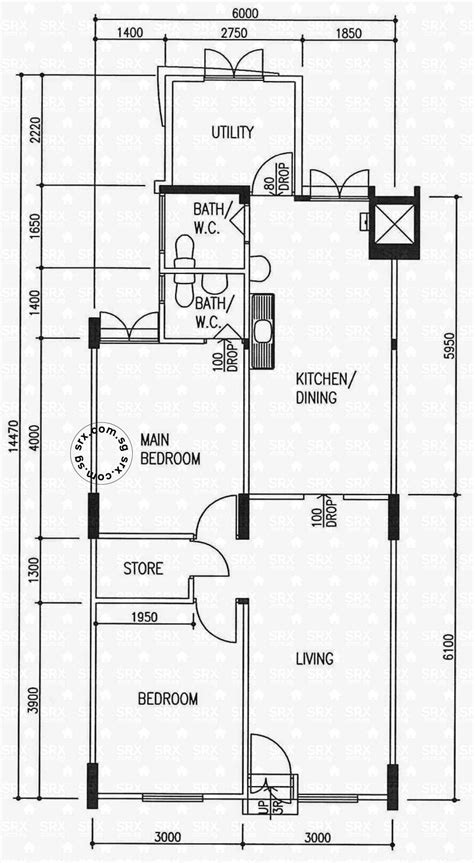 floor plans  bedok south avenue  hdb details srx
