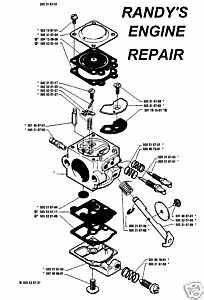Carburetor Husqvarna 50 51 55 Chainsaw 505316751 Walbro