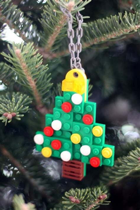 simple   lego christmas ornaments  kids