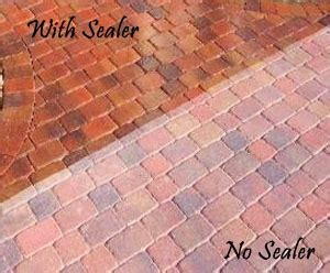 clean and seal brick paver showroom of ta bay