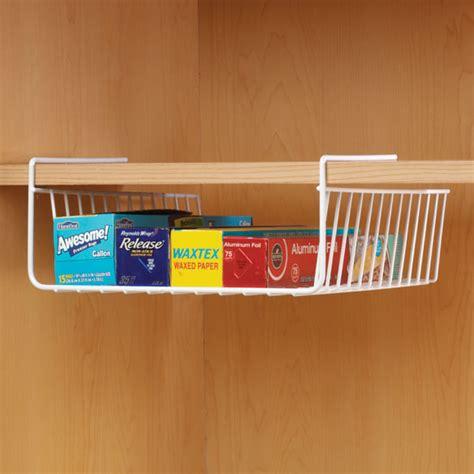 kitchen shelf wire basket  cabinet storage rack cupboard organizer tray bin ebay