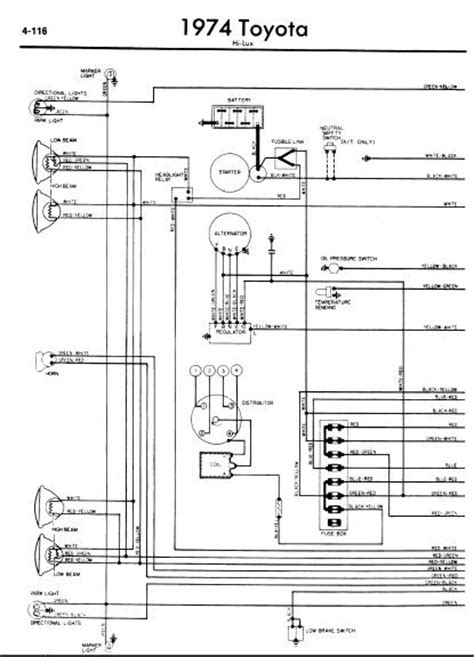 Repair Manuals Toyota Hilux Wiring Diagram