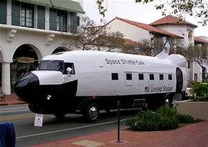 Space Shuttle Cafe food truck (converted DC-3 ...
