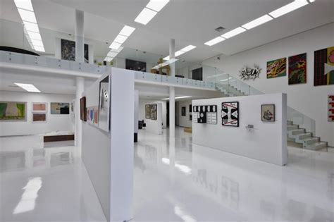 home gallery interiors big residence with gallery in lower level je house
