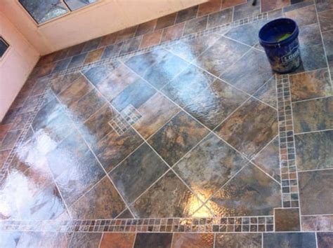 this is the lowes brand porcelain slate tile look