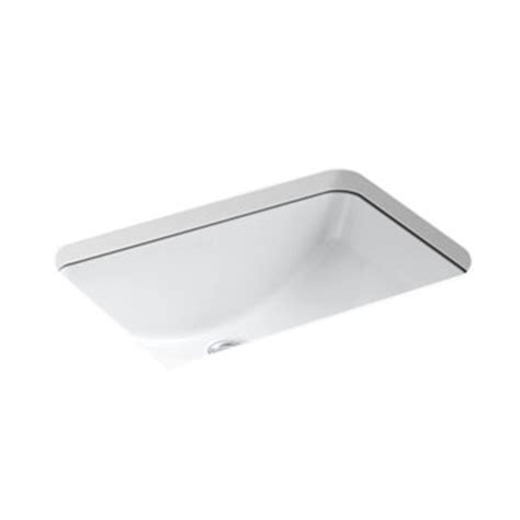 kohler k 2214 0 ladena undermount lavatory sink white