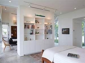 Separation Salon Chambre : s paration de pi ce id es originales comment s parer l 39 espace ~ Zukunftsfamilie.com Idées de Décoration